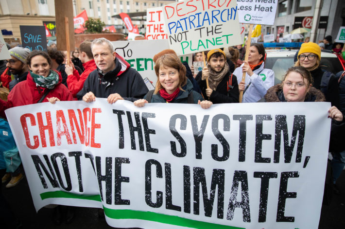 The European Left and the Green New Deal