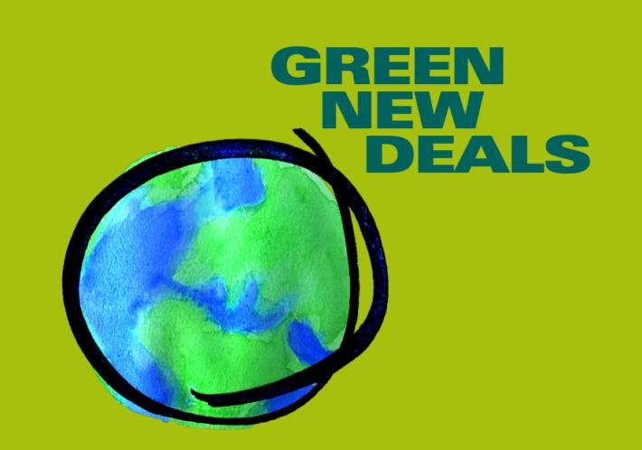 New publication: Green New Deals